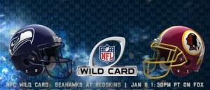 Free Pick for Wild Card week : Seahawks!