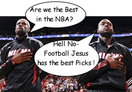 football Jesus NBA picks 12-4